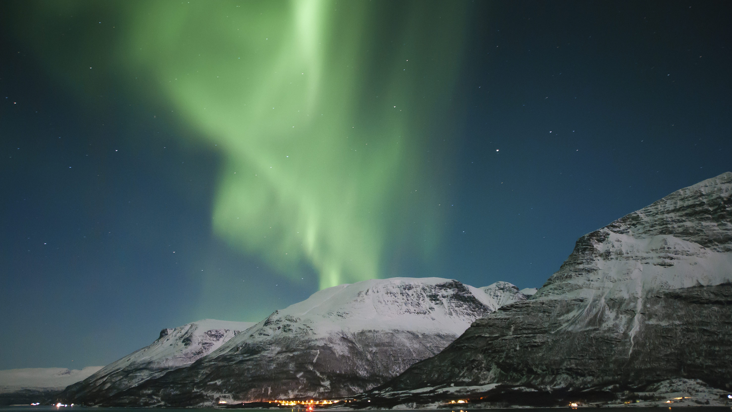 northern lights in norway - fotos de auroras boreales en Noruega
